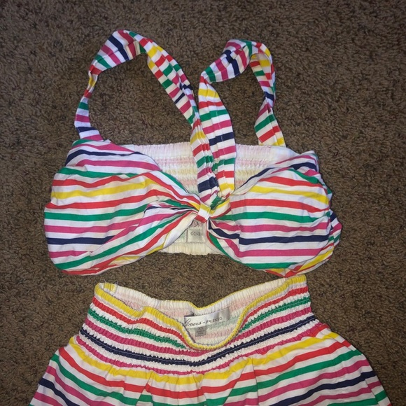 Lovers + Friends Other - Lovers + Friends Rainbow Two piece set